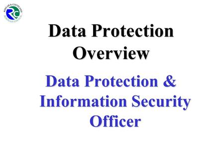 Data Protection Overview