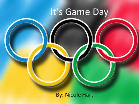 By: Nicole Hart It's Game Day. Matching Activity Directions: Match the image with the proper sport Soccer Baseball Football Basketball.