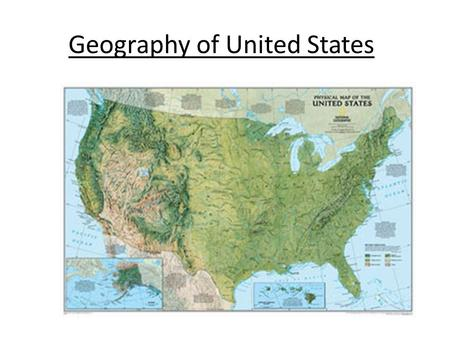Geography of United States