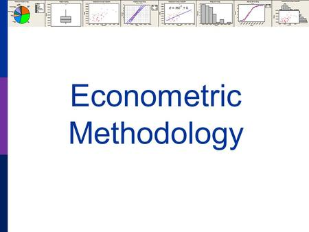 Econometric Methodology. The Sample and Measurement Population Measurement Theory Characteristics Behavior Patterns Choices.