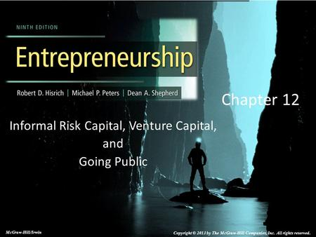 Informal Risk Capital, Venture Capital, and Going Public