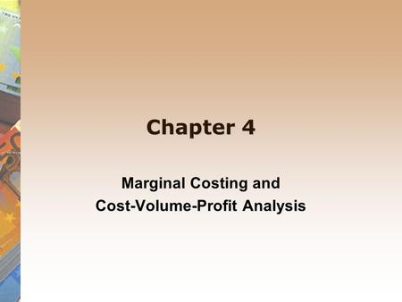 marginal costing as a tool for Discover why understanding marginal analysis helps to identify the optimal distribution of resources and  how is marginal analysis used in making a managerial.