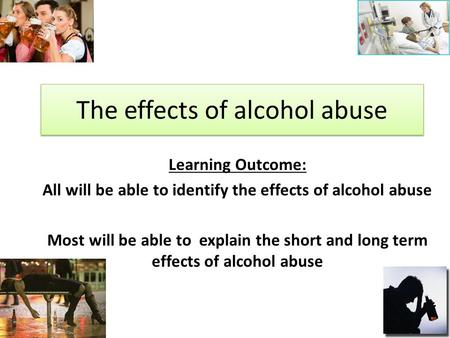 Effects Alcohol. Drugs