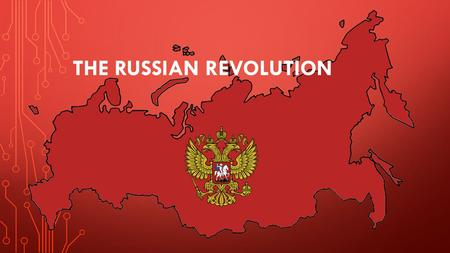 THE RUSSIAN REVOLUTION. RUSSIA BEFORE THE USSR Ruled by monarchs (czars or tsars) since 1547 Last czar: Nicholas II (ruled 1894-1917) Why revolt? Poverty.