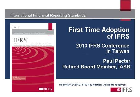 Copyright © 2013, IFRS Foundation. All rights reserved.