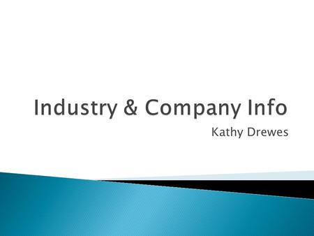 Kathy Drewes. NAICS Codes – North American Industry Classification System Eg. Lets say I was interested in Expedition Energy Inc., out of Calgary. They.