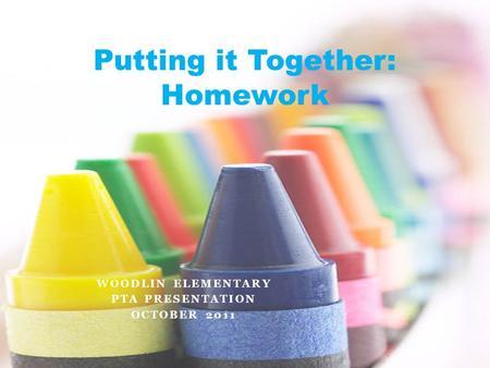 Pta homework tips
