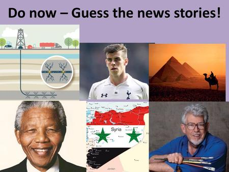 Do now – Guess the news stories!. Thursday 5 th Sept 2013 L.O: - To analyse why some Christians use the Bible and the Church to make moral decisions and.