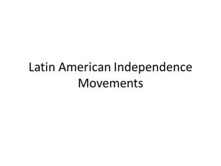 Nationalism in latin america essay