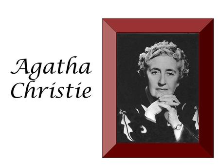 Agatha Christie. Born in Torquay, Devon, England, on September 15, 1890 Devon.