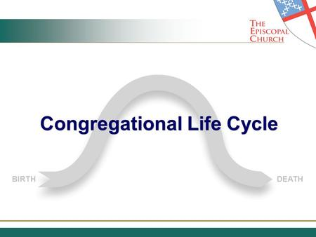BIRTHDEATH Congregational Life Cycle. Every Living Thing and System has a Natural Life Cycle.