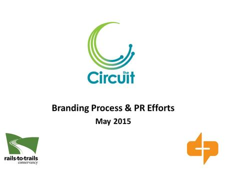 Branding Process & PR Efforts May 2015. Agenda Branding Discovery Process + Next Steps Spring Recap Summer 2015 Plan #onthecircuit.