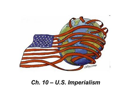 imperialism as the driving force behind the american expansionism