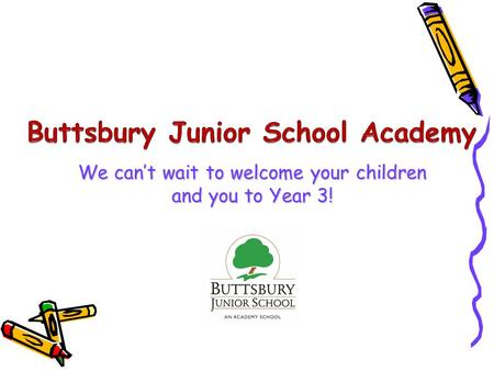 We can't wait to welcome your children and you to Year 3!