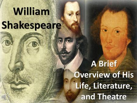 the literary life of william shakespeare William shakespeare is arguably the most famous writer of the english language, known for both his plays and sonnets though much about his life re.