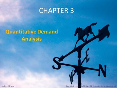 Quantitative Demand Analysis