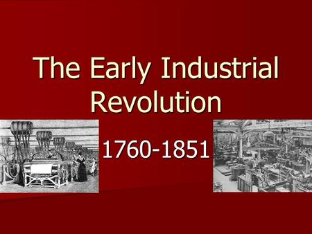an overview of the agricultural and industrial revolution in europe During the early period of the industrial revolution, most industrial an agricultural revolution europe's industrial revolution stemmed.