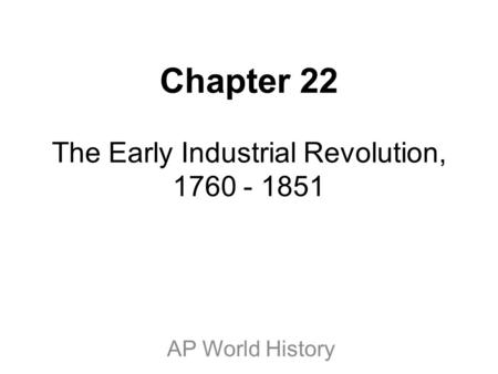 an introduction to the history of industrial revolution The industrial revolution was the single most important development in human history over the past three centuries, and it continues to shape the contemporary world.