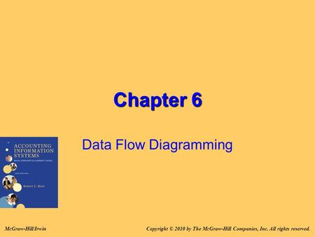 Chapter 6 Data Flow Diagramming Copyright © 2010 by The McGraw-Hill Companies, Inc. All rights reserved.McGraw-Hill/Irwin.