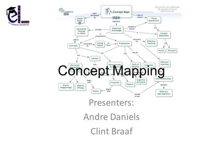 Concept Mapping Presenters: Andre Daniels Clint Braaf.