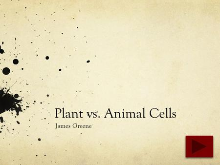Plant vs. Animal Cells James Greene. Content Area : Science Grade Level : 5 Summary : The purpose of this PowerPoint is to provide students with facts.