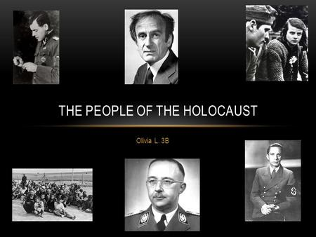 "Olivia L. 3B THE PEOPLE OF THE HOLOCAUST. DR. JOSEF MENGELE CEFREY,HOLLY ""DR.JOSEF MENGELE"" NEW YORK: THE ROSEN PUBLISHING GROUP INC. 2001 PRINT Dr. Josef."