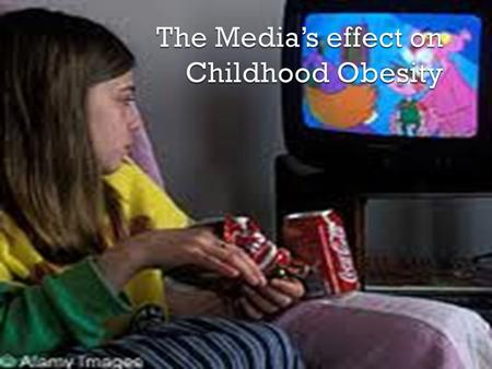  To see if there is any correlation between the childhood obesity epidemic, and the roles that television advertisements play on influencing food choices.