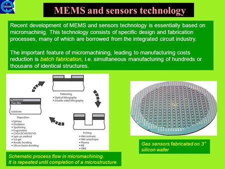 MEMS and sensors technology