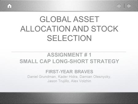 Small cap stock trading strategies