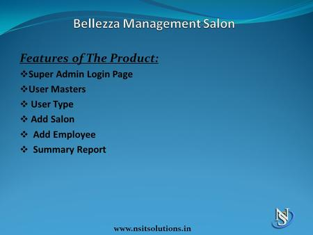 Bellezza Management Salon