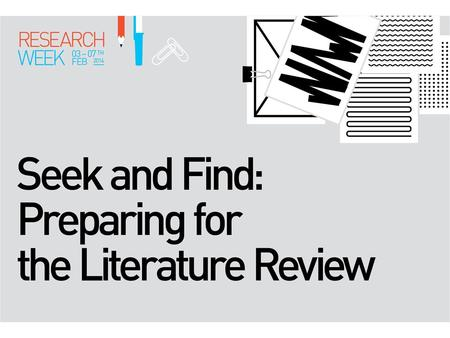 Library Research Week 2014  What databases are there to choose from?  Why are there so many?  What types are there?  Why do some have good indexing.
