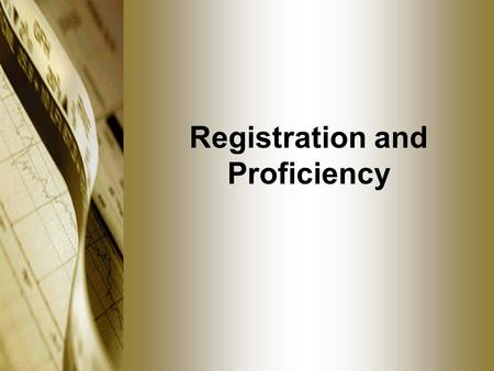 Registration and Proficiency. FCMs and IBs Dual registration required Any firm already fully-registered as both a broker-dealer and an FCM or IB has no.