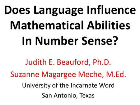 Language Impact On Literacy