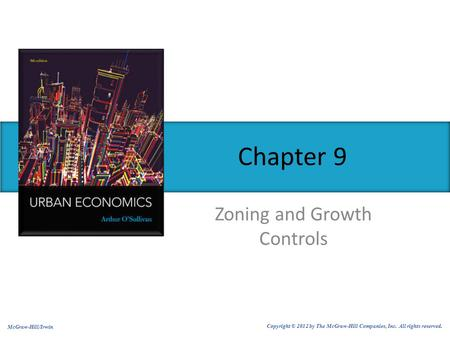 Zoning and Growth Controls