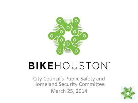 City Council's Public Safety and Homeland Security Committee March 25, 2014.