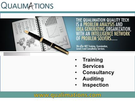 Training Services Consultancy Auditing Inspection S.