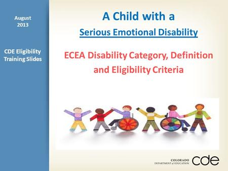 serious emotional disability ppt download