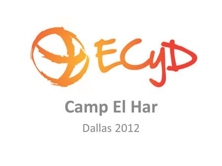 Camp El Har Dallas 2012. What are your questions about camp?