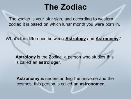 Constellations of the Zodiac - ppt video online download