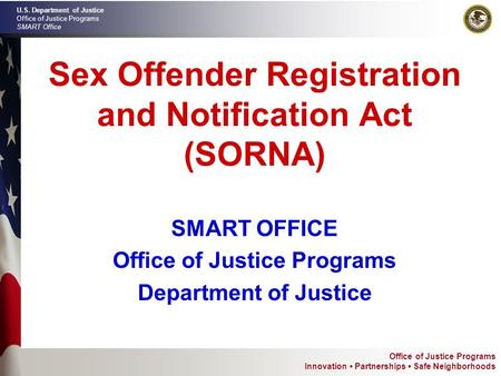 Sex offenders notification