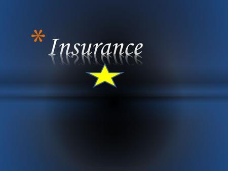 Insurance is contract or agreement under which one party agrees in consideration of insurance premium to pay an agreed sum of money to the insured to.