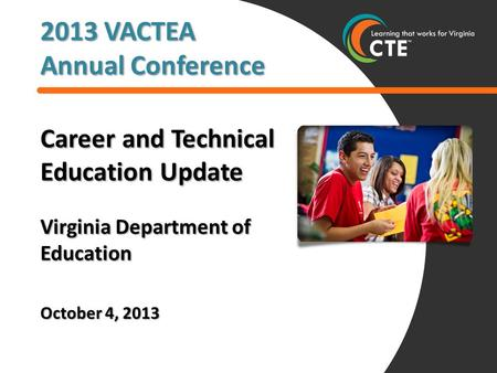 Career and Technical Education in Virginia