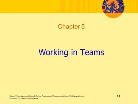 Working in Teams Chapter 5