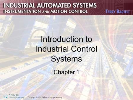 Introduction to Industrial Control Systems Chapter 1.