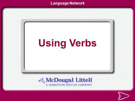 Using Phrases Language Network Using Verbs Language Network.