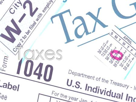  Taxes are expenses that you pay everyday that are used by the local, state and federal government to provide important services such as: police and.