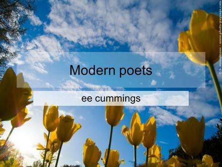 Modern poets ee cummings. am was am was. are leaves few this. is these a or scratchily over which of earth dragged once -ful leaf. & were who skies clutch.