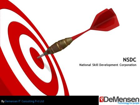 NSDC National Skill Development Corporation By Demensen IT Consulting Pvt Ltd.