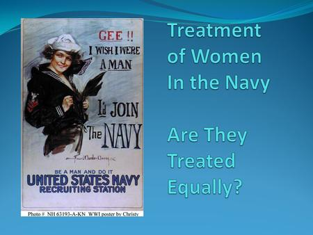 are women treated fairly in the