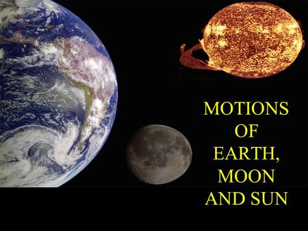 sun earth moon movement - photo #23